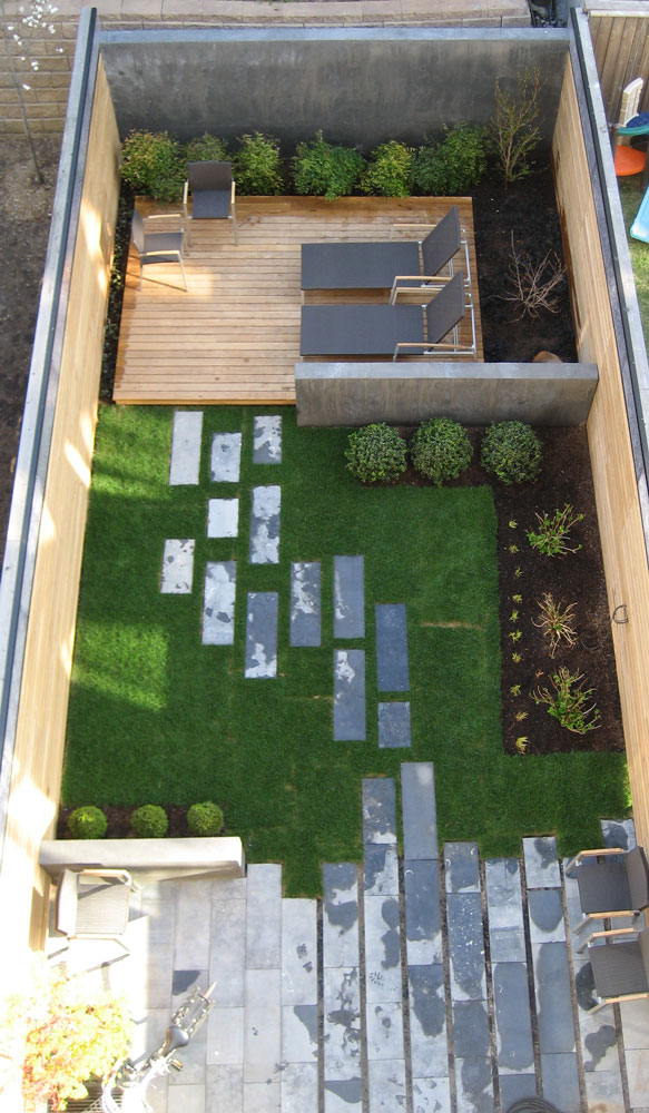 Home Inspiration: Modern Garden Design - Studio MM Architect on Backyard Patio Layout id=96827