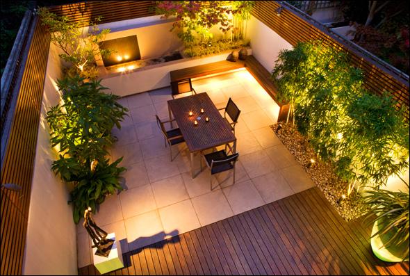 Home Inspiration: Modern Garden Design - Studio MM Architect on Small Urban Patio Ideas id=50642