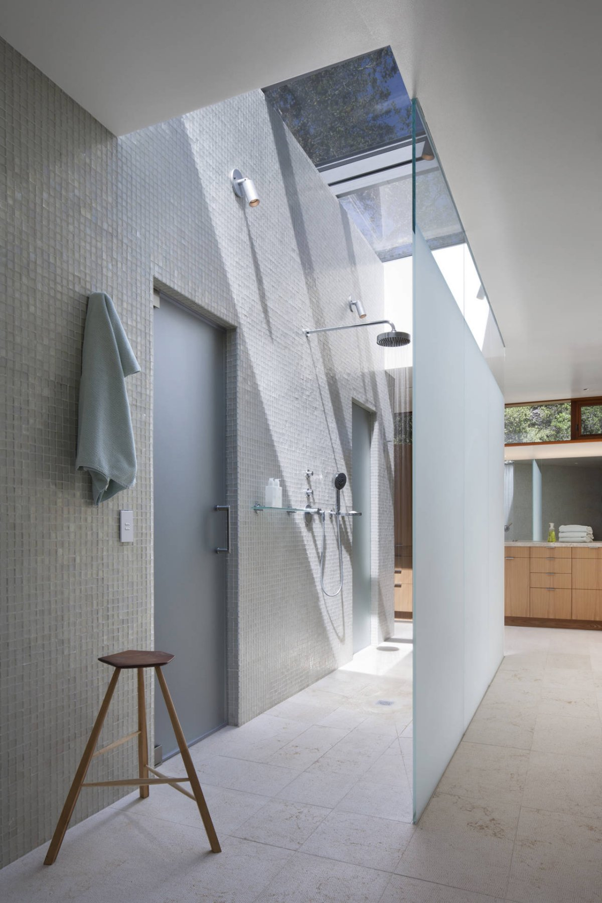 Modern Design Inspiration Walk Through Shower Ideas